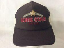 trucker hat baseball cap Lone Star Beer National Beer Of Texas retro vintage