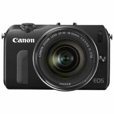 Excellent! Canon EOS M with EF-M 18-55mm IS STM Black - 1 year warranty