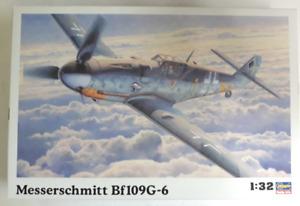 Hasegawa Messerschmitt Bf109G-6, Luftwaffe de Combat En 1/32 8067 St