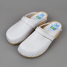Sweden Clog Orthopedic / Echtes Leder Rind weiß / Größe 36 Damen Schweden Clogs