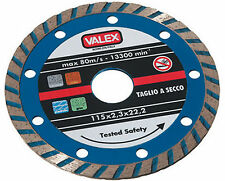 Disco da taglio per Smerigliatrice diamantato Valex 230 mm