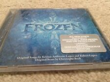 Frozen Original Disney Soundtrack Brand New CD Elsa Anna Let It Go Olaf Snowman