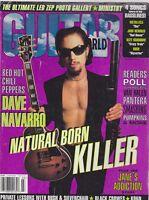 MARCH 1996 GUITAR WORLD vintage music magazine DAVE NAVARRO