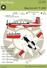 Bestfong Decal 1/48 Beechcraft T-34C R.O.C. (Taiwan) Af