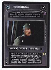 SWCCG Star Wars CCG • Captain Gilad Pellaeon no Thrawn • REFLECTION II 2 • RARE