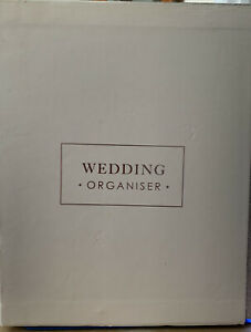 Wedding Planner/organiser Book Small Marks On Box,One On Back Page Never Used.