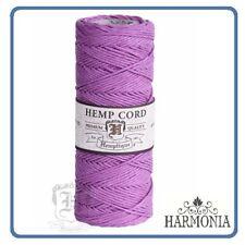 HEMPTIQUE 100% Pure  HEMP CORD SPOOLS  1mm Cord 62.5m spool  LIGHT PINK