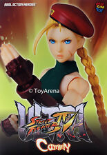 Medicom Street Fighter IV Cammy Real Action Hero RAH Figure IN STOCK USA Seller