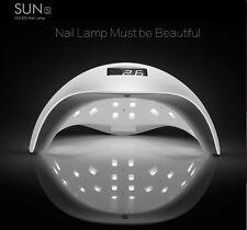 Lampada UV SUN5 48W LED fornetto ricostruzione unghie gel nail tips colata FD-93