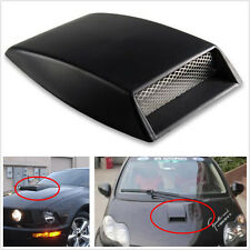 Voiture universel décoratifs air flow intake scoop turbo bonnet vent cover hood abs