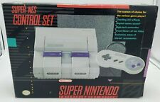 Super Nintendo Entertainment System Control Set BOX ONLY Has Wear
