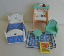 FISHER PRICE LOVING FAMILY DOLLHOUSE JUMPIN ON THE BOUNCY BED KIDS BEDROOM SET