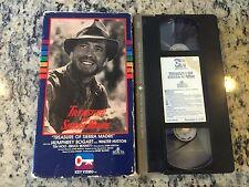 TREASURE OF THE SIERRA MADRE RARE OOP KEY VIDEO VHS 1948 HUMPHREY BOGART CLASSIC