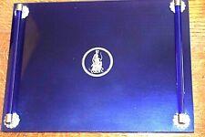 New ListingVintage Avon Cobalt Blue Glass Dresser Tray