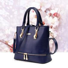 Office Lady Women Leather Handbag Purse Shoulder Satchel  Messenger Bags Tote