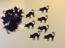 Halloween black cat Silhouette Die Cut Shapes For Card Making/scrapbooking