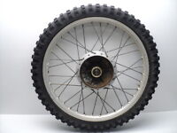 #4108 Honda XL350 XL 350 Aluminum Front Wheel & Tire