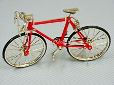 Rc 1/10 Scale Accessories Metal Racing Bike W/ Moving parts Red
