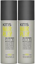 KMS HAIRPLAY MOLDING PASTE 150 ML X 2 FREE SHIPPING