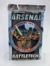 Battletech Trading Card Game Arsenal Booster WOC06311 Fasa  OvP, engl.