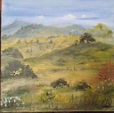 "Mali Mirzaei California landscape Art ""Mount Diablo."""