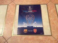 Finale May 2006 Paris Programme UEFA FCB Barcelona Arsenal Stare De France