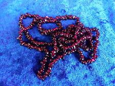 schöne ,alte Halskette__Granat__88cm   !
