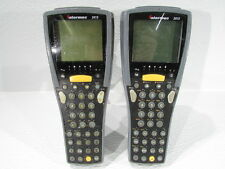 Lot Of (2) Intermec 2415 Trakker Antares Barcode Scanner