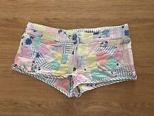 Patch Lavoro Hot Pants Pantaloncini Daisy Dukes Piccolo Pantaloncini NAIF