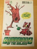 GUARDIANS OF THE GALAXY 1, NM+ 9.6, SKOTTIE YOUNG VARIANT, CGC WORTHY