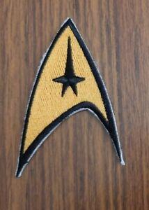 Starfleet Insignia sew / Iron On Patch, Star Trek clothing space Badge Applique