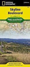 Skyline Boulevard, CA - (Nat Geo) Illustrated Trails Map #815
