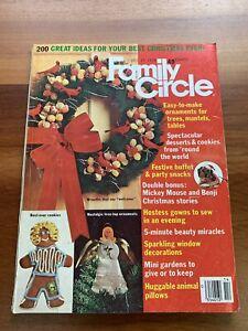 Family Circle Magazine 1978 Christmas December