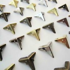 12pcs Metal Corner Protector Guard Jewelry Chest Wooden Box Furniture Fittings