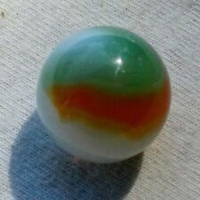 "5/8"" Early Vitro agate Opal Marble In Beautiful  Mint Condition Check Photos."