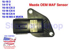 New OEM Mass Air Flow Sensor MAF for MAZDA 3 6 CX-3 CX-5 CX-9 MX-5 2.0L 2.5L