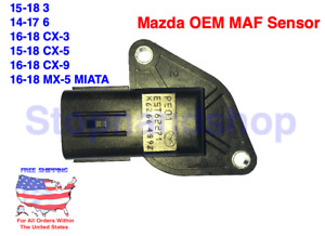 New OEM Mass Air Flow Sensor MAF for MAZDA 3 6 CX-3 CX-5 CX-9 MX-5 2.0L 2.5L