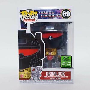 Grimlock #69 Funko Pop Vinyl + Pop Protector Transformers Con Exclusive