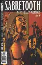 SABRETOOTH MARY SHELLEY OVERDRIVE #1-4 NEAR MINT 2002 COMPLETE SET MN-1622
