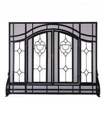 steel fireplace screens doors for sale ebay rh ebay com