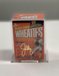 John Elway Commemorative 1993 Wheaties Encased Mini Box, Includes COA