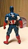 Marvel Hasbro 2011 Mighty Battlers Avengers Captain America Action Figure 6""