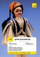 Teach Yourself Greek Phrasebook (TY: Language Guides) Nikki, Watts Paperback
