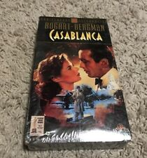 Casablanca VHS Tape 2001 Special Edition Brand New Sealed Free Shipping
