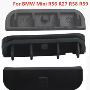 Rear Tailgate Handle For BMW Mini R56 R27 R58 R59 Switch Rubber Cover Button Cap