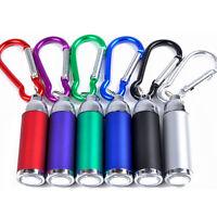 Mini poche LED lampe torche porte clé porte-clés mousqueton torche  BB