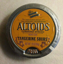 Altoids Sours (1 Sealed Tin) Curiously Strong Tangerine (Discontinued, RARE)