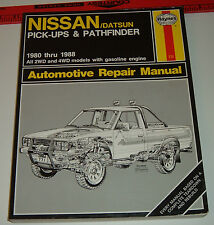 Haynes Nissan Pick-Ups Owners Workshop Manual by Rik Paul, Ken Freund & John...