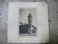 ANTIQUE AUSTRALIAN POSTCARD PHOTOGRAPH KYNETON PO POST OFFICE BUILDING