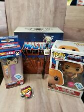Masters Of The Universe Pop!! He-Man Funko Mystery 4 pzs box